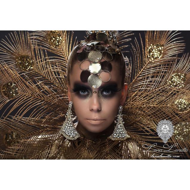 Gold Peacock